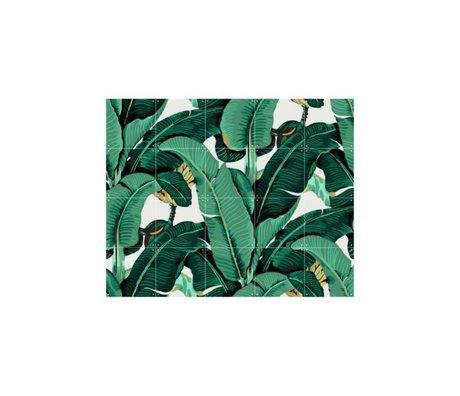 IXXI Wanddekoration Banana Leaf kleine bunte Papier 100x80cm