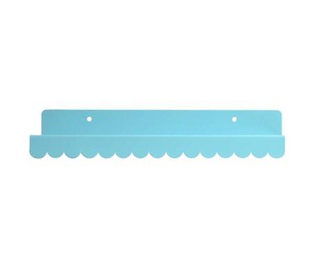 Eina Design Wandregal blau metallic 29x9cm