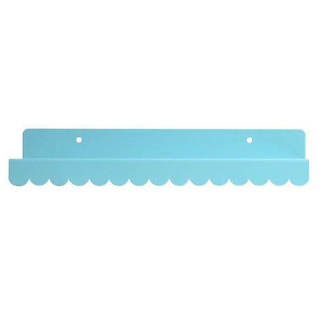 Eina Design Wandplank blauw metaal 29x9cm
