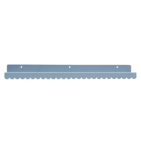Eina Design Wandplank lichtgrijs metaal 50x9cm