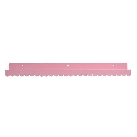 Eina Design Wandplank lichtroze metaal 50x9cm