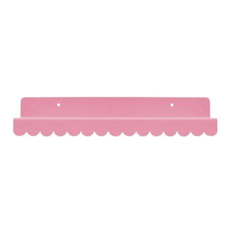 Eina Design Wall shelf light pink metallic 29x9cm