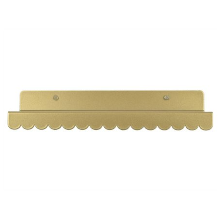 Eina Design Wandregal Gold Metall 29x9cm