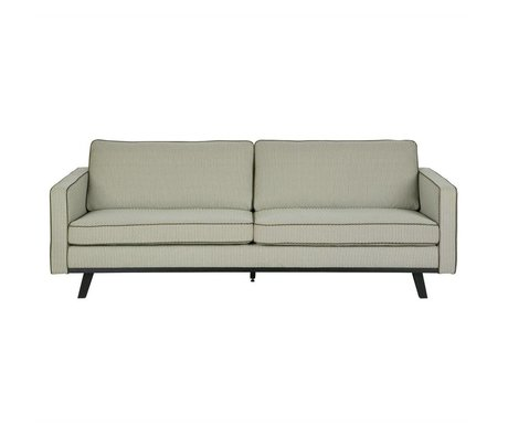 BePureHome 3-Sitzer Rebel grün Polyester Holz 230x86x85cm
