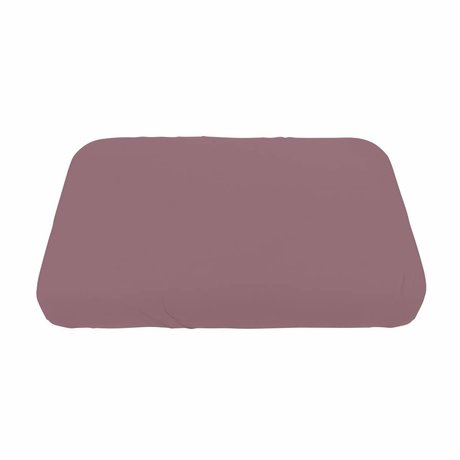 Sebra Baby Fitted Sheet old pink cotton 120x70cm