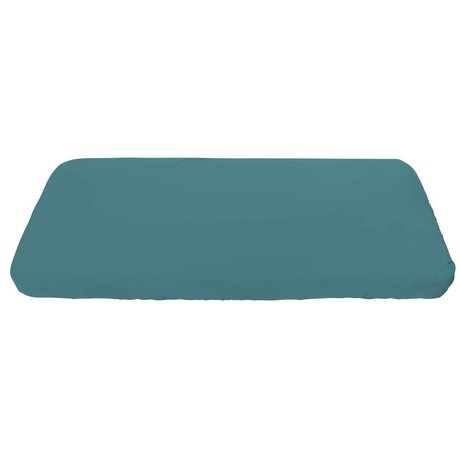 Sebra Babyhoeslaken blauw katoen 160x70cm