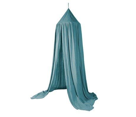 Sebra coton bleu moustique Ø52cmx240cm