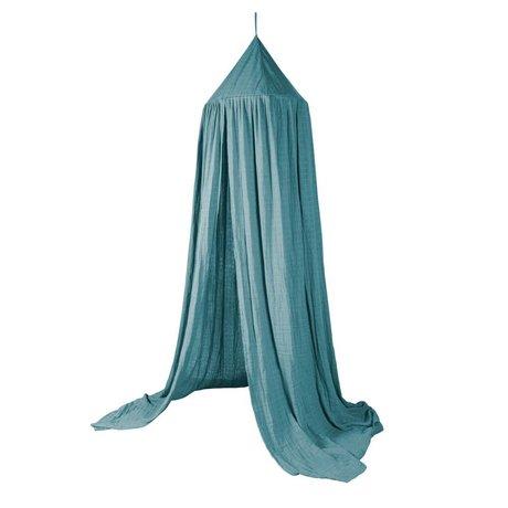 Sebra Moskitonetz blau Baumwolle Ø52cmx240cm