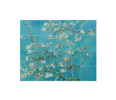 IXXI Wanddekoration Van Gogh Almond Blossom blaues Papier S 100x80cm
