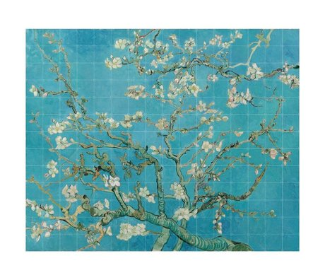 IXXI Wanddekoration Van Gogh Almond Blossom blaues Papier XL 320x260cm