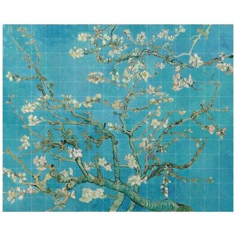 IXXI Wall decoration Van Gogh Almond Blossom blue paper XL 320x260cm