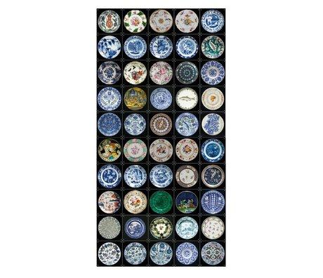 IXXI Wall Decor Q & A boards collage multicolored paper L 50 cards 20x20cm