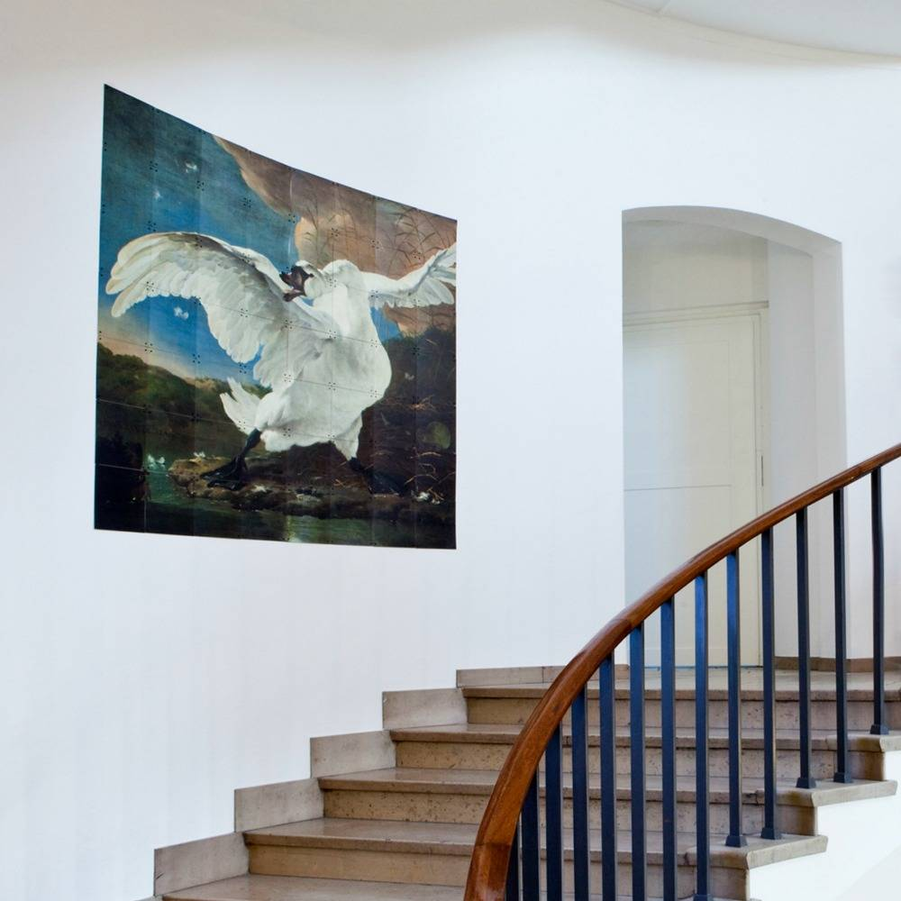 Ixxi d coration murale asselijn le papier multicouleurs for Decoration murale papier