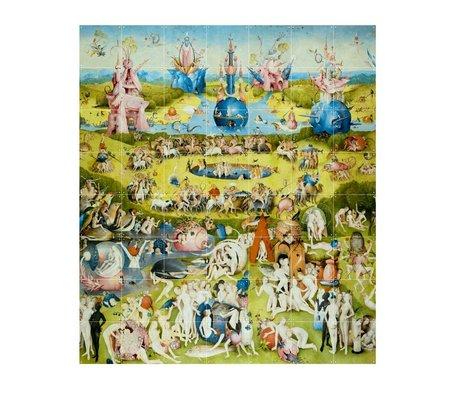IXXI décorations murales Bosch Le jardin des délices terrestres multicolor papier L 140x160cm