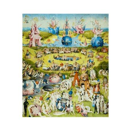 IXXI Wanddecoratie Bosch Garden of earthly delights multicolour papier S 100x120cm