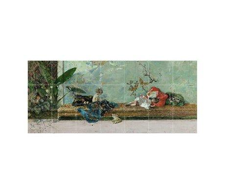 IXXI Wanddekoration Fortuny Die Kinder des Malers bunten Papier S 140x60cm