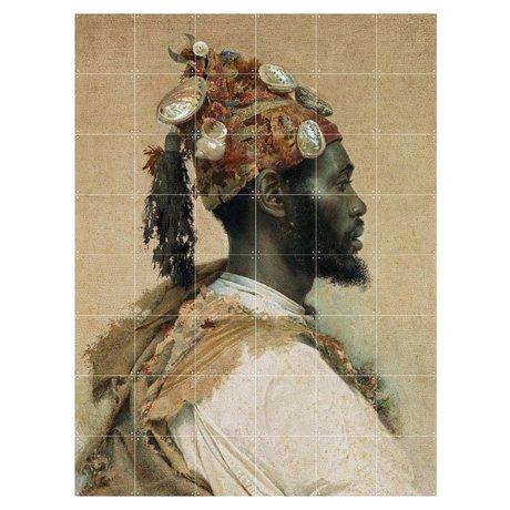 IXXI Wanddecoratie Tapiro The dancer multicolour papier L 120x160cm