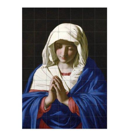 IXXI Wanddekoration Da Sassoferrato Die Jungfrau im Gebet Mehrfarbenpapier L 140x200cm