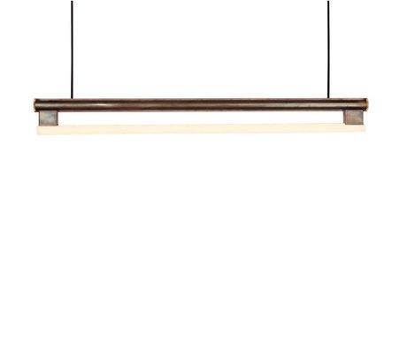Frama Lampe suspension métallique en laiton Eiffel 1000mm