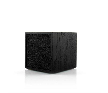 Tivoli Audio Speaker Cube zwart hout 11,7x11x11cm