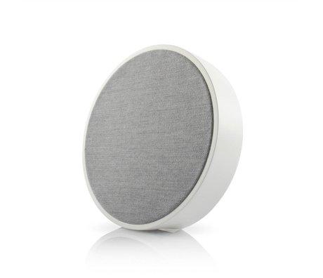 Tivoli Audio Orb Lautsprecher weiß grau Holz Ø23x5cm