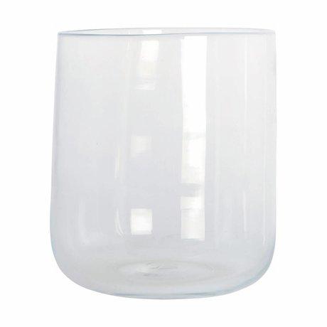 Housedoctor Vaas Johanna transparant glas ø19x23cm