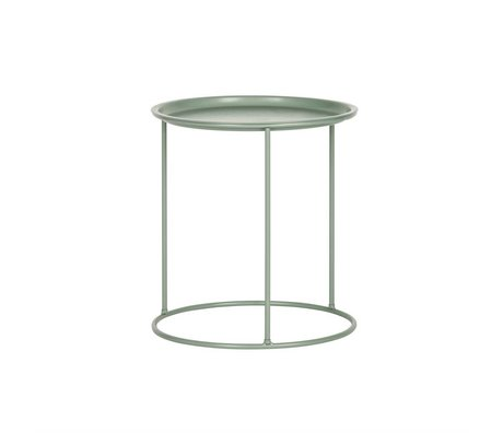 LEF collections Occasional table Ivar jade green metal M 43,5x40cm