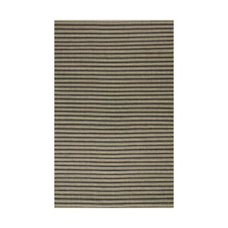 LEF collections Outdoor Rug Cyclo natural brown black rubber in 5 sizes