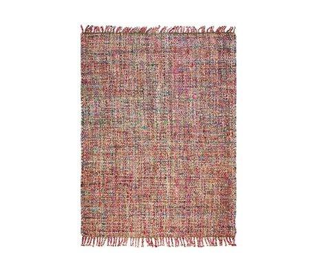 LEF collections Teppich im Freien Salvador Mehrfarbentextilschlichten in 2