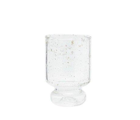 Madam Stoltz Glass transparent Ø7x11cm
