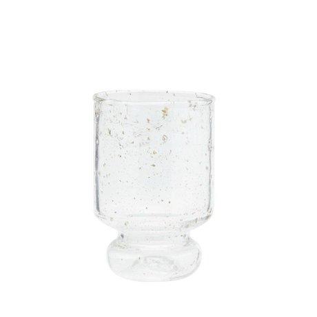 Madam Stoltz Glas transparent Ø7x11cm