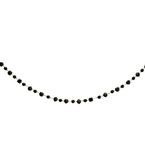 Schwarzes Holz madam stoltz garland kugeln schwarzes holz 120cm wonen met lef