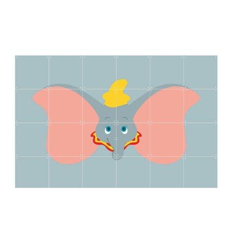 IXXI Wall Decor Disney All Stars Dumbo gray multicolour paper 120x80cm
