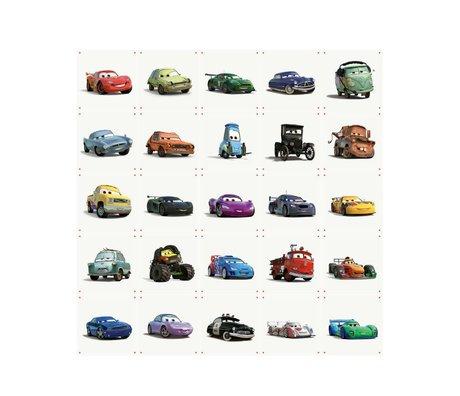 IXXI Wanddekoration Autos Collage buntes Papier L 25 Karten 20x20cm