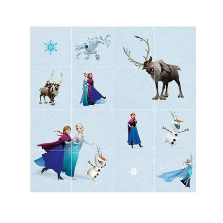 IXXI Wall decoration Frozen world light blue multicolour paper 80x80cm