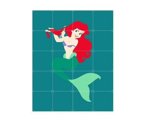 IXXI Wanddeko Disney Princess Ariel Mehrfarben Papier 80x100cm
