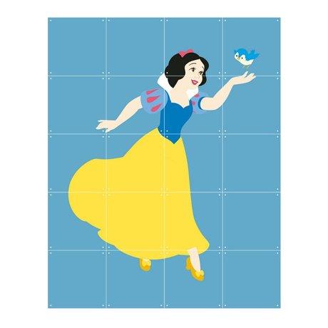 IXXI Wall Decoration Disney Princess Snow White blue yellow paper 80x100cm