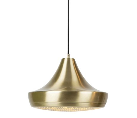 Zuiver Hanglamp Pendant Gringo goud metaal 35x25cm