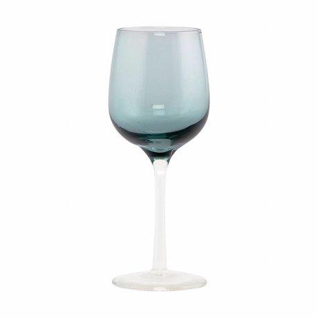 Housedoctor Liqueur Glaskugel grünes Glas H: 13cm