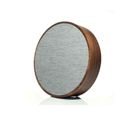 Tivoli Audio Lautsprecher-Kugel braun grau Holz Ø23x5cm