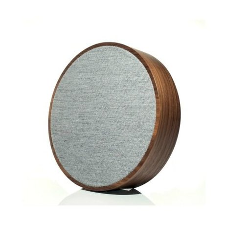 Tivoli Audio Speaker Orb brown gray wood Ø23x5cm