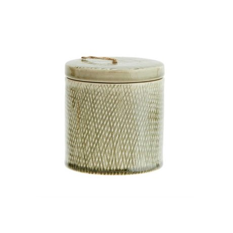 Madam Stoltz Verfügbarkeit Potje grüne Keramik 10x11cm