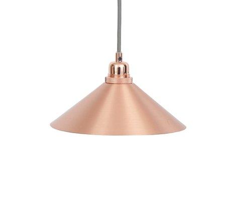 Frama Cône pendaison cuivre métallique de la lampe avec E27 S Ø25cm