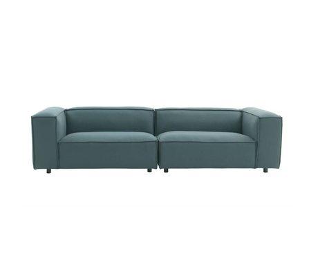 FÉST Dunbar Bank 3-Sitzer grün Hero991 kvadrat 302x103cm