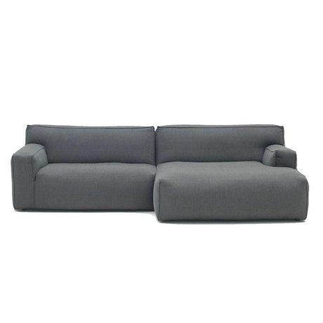 FEST Amsterdam Ton-Bank Anthrazitgrau Sydney96 1,5-Sitzer Sofa und die links oder rechts