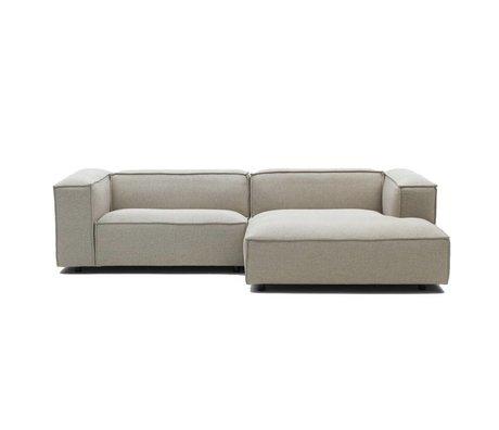 FEST Amsterdam Dunbar Bank Polvere21 beige Zweisitzer Sofa und links oder rechts