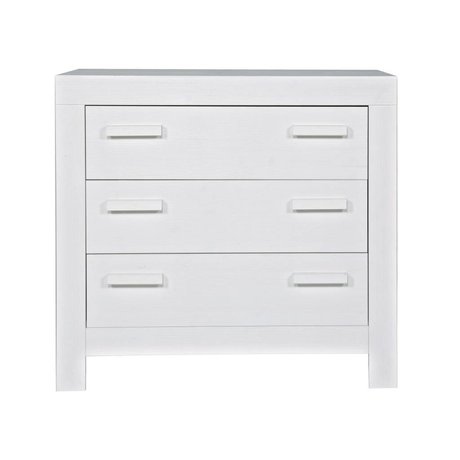 LEF collections Commode 'New life' brushed pine white 95x52x91cm