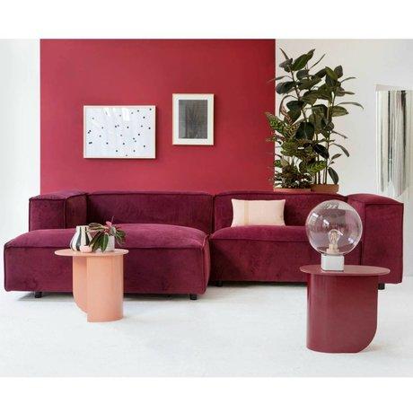 FEST Amsterdam Dunbar Bank weinrot Seven39 1,5-Sitzer Sofa und links oder rechts