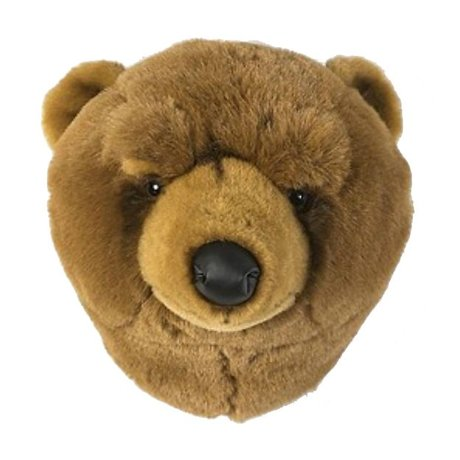 Wild and Soft ours brun animal Oliver 37x32x32cm textile