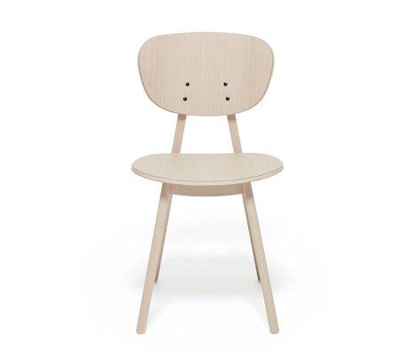 FEST Amsterdam Dining chair Filou beech light brown wood 43,5x58x79cm